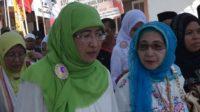 Ketua PC Muslimat NU Kabupaten Sumenep, Nyai Hj Dewi Khalifah